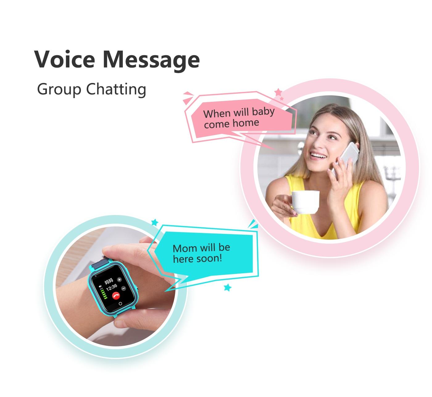 Hd1cf69d08a4d4e95ac8af6024998acc5P LT21 4G Smart Watch Kids GPS WIFI Video Call SOS IP67 Waterproof Child Smartwatch Camera Monitor Tracker Location Phone Watch