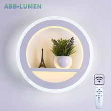 LED wall lamp bedroom light nordic wall lamps dimmable living room wall bedside lamp led wall Light for home bathroom fixture
