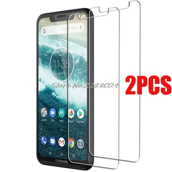 2PCS FOR Motorola One Power Tempered Glass Protective on Motorola P30 Note Play XT1941-4 Screen Protector Glass Film Cover image