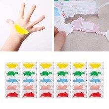 30 unidades/pacote bandagens adesivas impermeáveis médicas da faixa dos primeiros socorros dos desenhos animados para o bebê