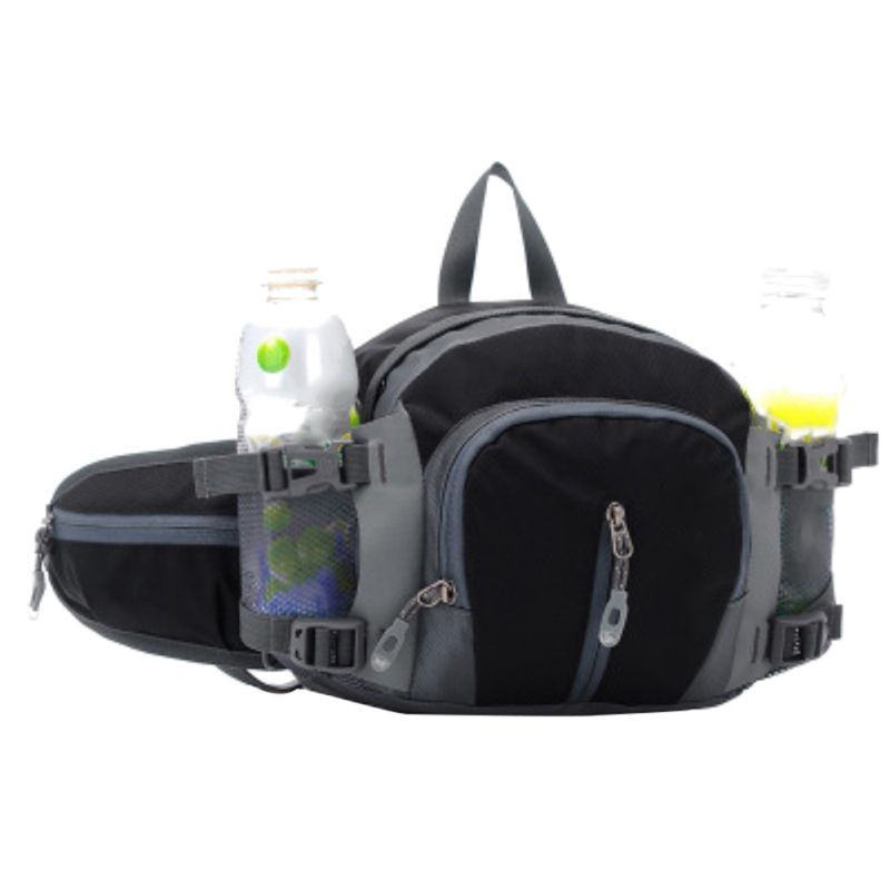 Practical Waist Bag Large Capacity Water Bottle Holder Single Double Shoulder Bags Outdoor Running Climbing Cycling Sports Bag