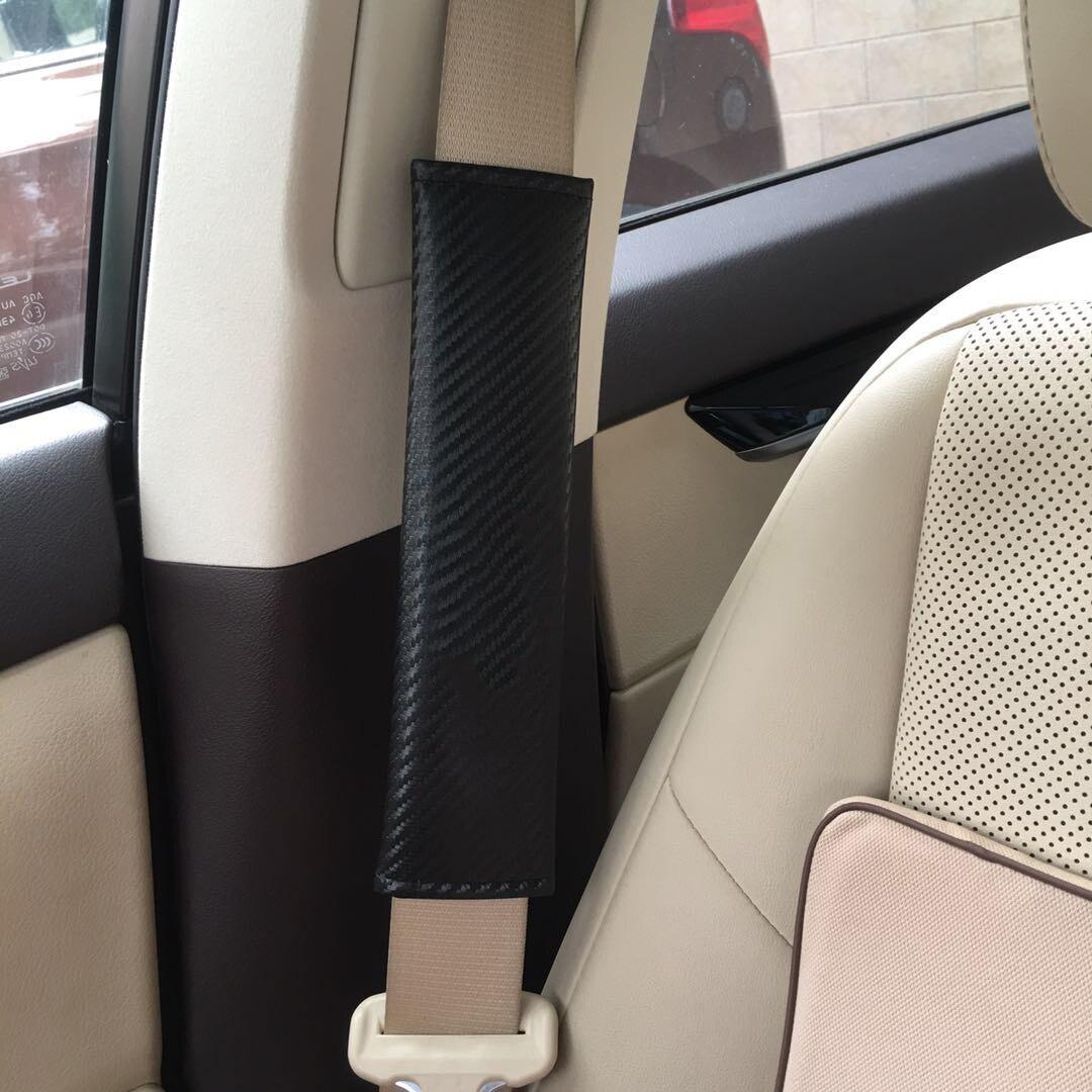 2x машине удобные водительского сиденья плечевого ремня чехол для ремня безопасности для VW Golf 7 GTI для игры в гольф для девочек 4, 5, 6, MK5 MK6 MK7 CC г...