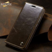 kisscase luxury business flip case for samsung galaxy s10 back cover leather case for samsung a50 note8 s7 note10 s8 s9 s8 plus KISSCASE PU Leather Flip Case For Samsung A70 Cover A50 S8 A40 S9 S10 A20 A30 S7 Edge Magnetic Case For Samsung S7 Funda Holster