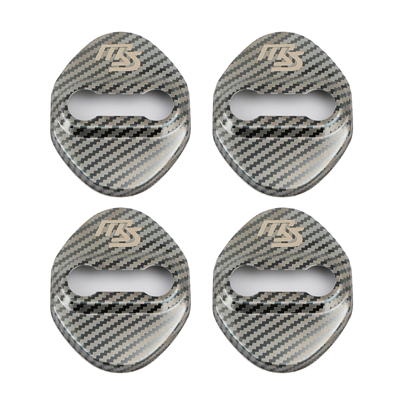 Door Lock Decoration Protection Cover emblem case for <font><b>Mazda</b></font> 2 <font><b>Mazda</b></font> 3 MS For <font><b>Mazda</b></font> 6 CX-5 <font><b>CX5</b></font> <font><b>accessories</b></font> Car-Styling image