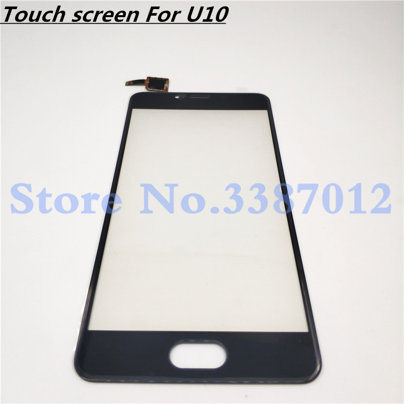 5.0'' Replacement High Quality For Meizu U10 U 10 Touch Screen Digitizer Sensor Outer Glass Lens Panel