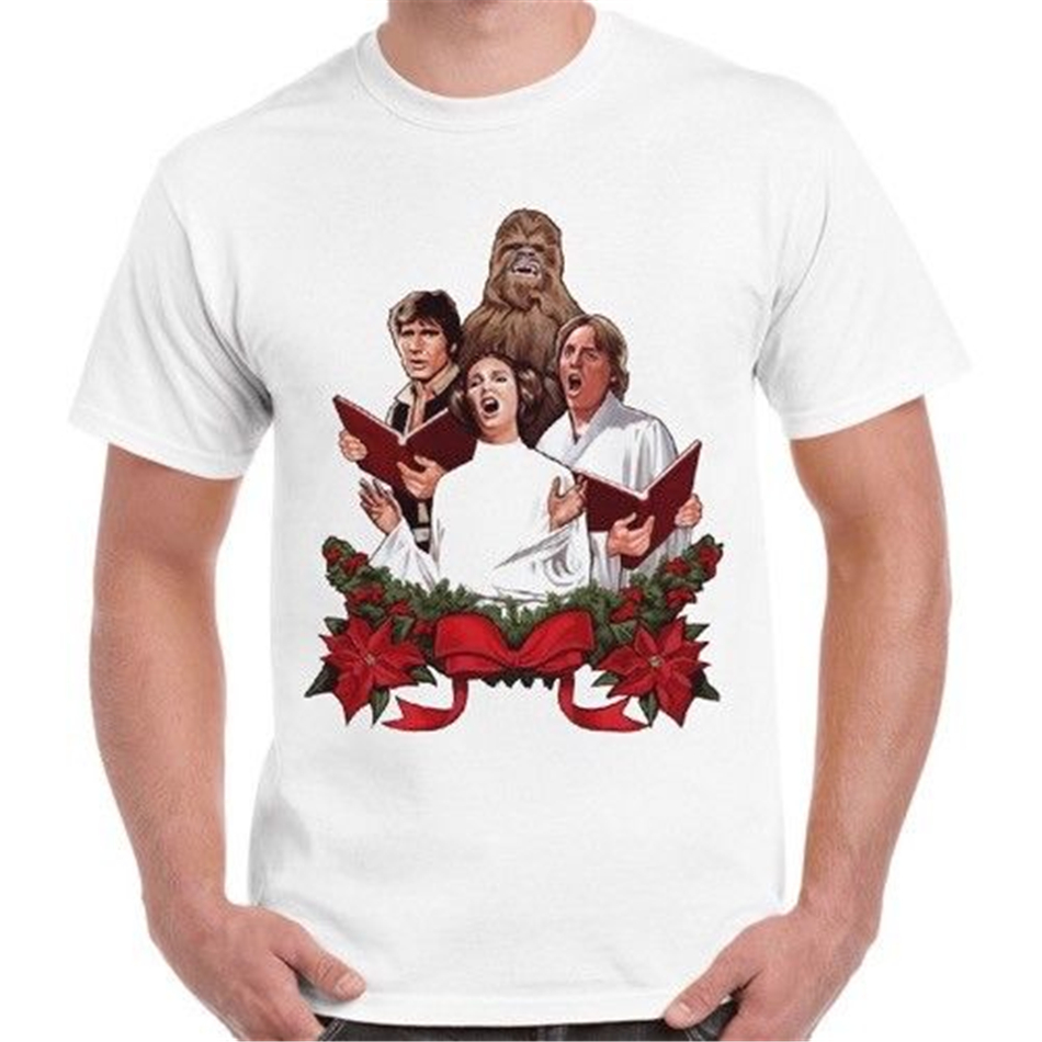 Christmas Song Star Wars Inspired Cool Gift Retro T Shirt 2332 Tee Shirt fashion Plus Size image