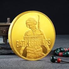Удачи сегодня вечером, курица, памятная монета PUBG, памятная монета, Коллекционная монета, медаль