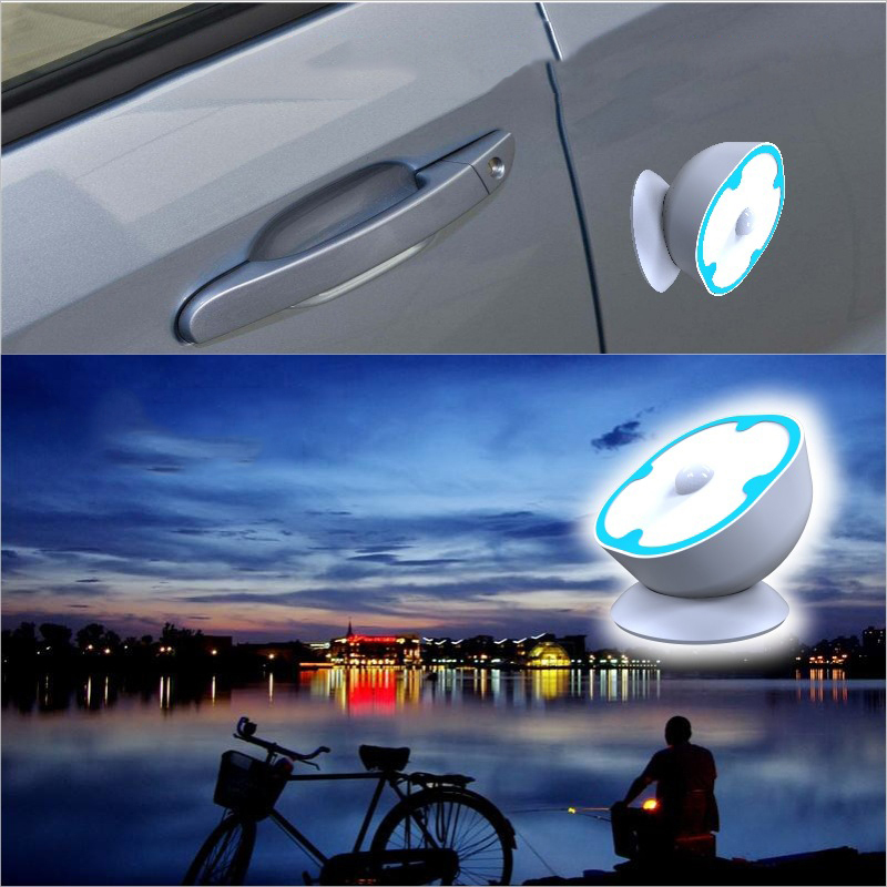 Hot Night Light Infrared Human Body Light Sensor USB Charging Night Light Control Baby Sleep For Bedroom