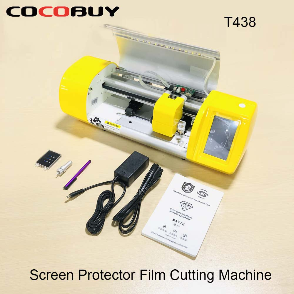 Flexible Hydrogel Film Screen Protector Cutting Machine For Phone Watch Airpods Camera Tablet Front Glass Film Cutter