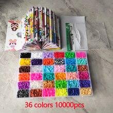 5mm beads 24/48/36box packing Hama beads Education Toys Iron beads handmaking perler Fuse beads diy toy Free shipping