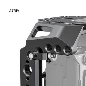 """Image 4 - SmallRig חצי כלוב עבור Sony A7 III A7R III A7R IV Dslr מצלמה כלוב עם נאט""""ו רכבת/קר נעל וידאו ירי כלוב ערכת 2629"""