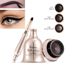 3 Colors Eyebrow Gel Thick Eye Liner Pencil Natural Brown Eye Brow Pomade Tattoo Tint Make Up Waterproof Long Lasting Cosmetic цена
