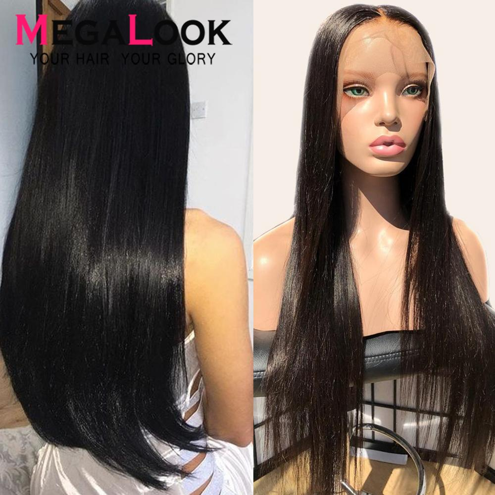 Lace Front Human Hair Wigs13x4 13x6 Lace Front Wig Remy Straigh Lace Front Human Hair Wigs 180 Pre Plucked Transparent Lace Wigs