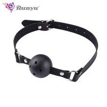 Mouth Gag Hot Erotic Erotic Toys Ball Open Mouth Gag Sex Bondage Mouth Stuffed Adult Mouth Ball Exotic Accessories Sexy Lingerie adult games mouth flail mouth gag bondage set mouth bite sex toy slave gag for lovers erotic toys