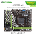 Original MAXSUN Challenger A320M. 2 VH AMD Motherboard AM4 mATX Dual Kanal DDR4 1000M LAN SATA3.0 USB3.1 VGA HDMI NVME SSD