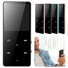 2.4 Inch Tft Lcd Color Screen Bluetooth Mp3 Mp4 Player Media Fm Radio Recorder Video Recording Hifi Music Speakers W/ Earphone