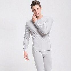 2020 homens roupa interior térmica longo johns homens outono inverno topos + calças 2 peça conjunto manter quente grosso plus size L-2XL termica homem