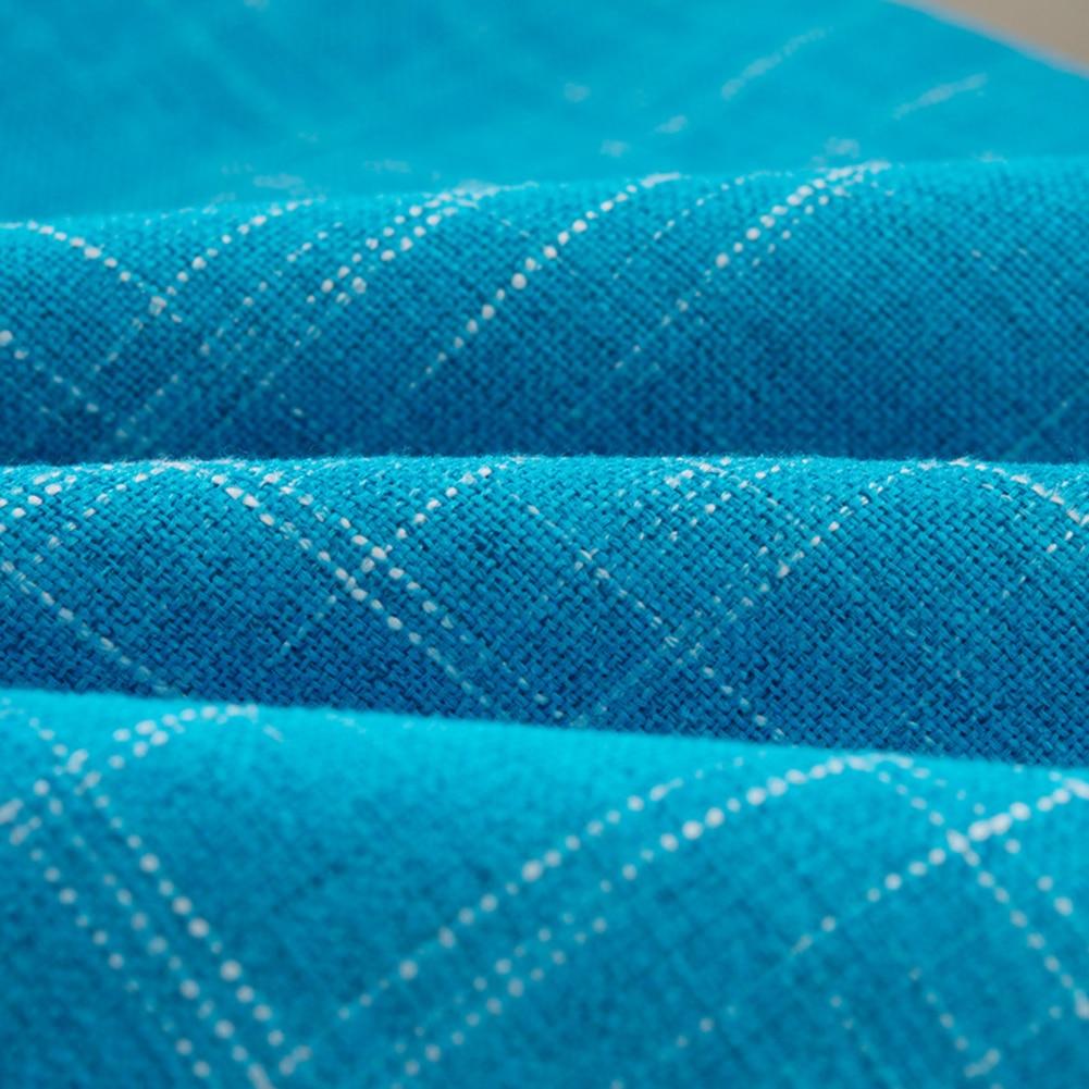 Купить с кэшбэком Fresh Color Linen Throw Pillow Case Cover Sofa Bed Car Cafe Decoration