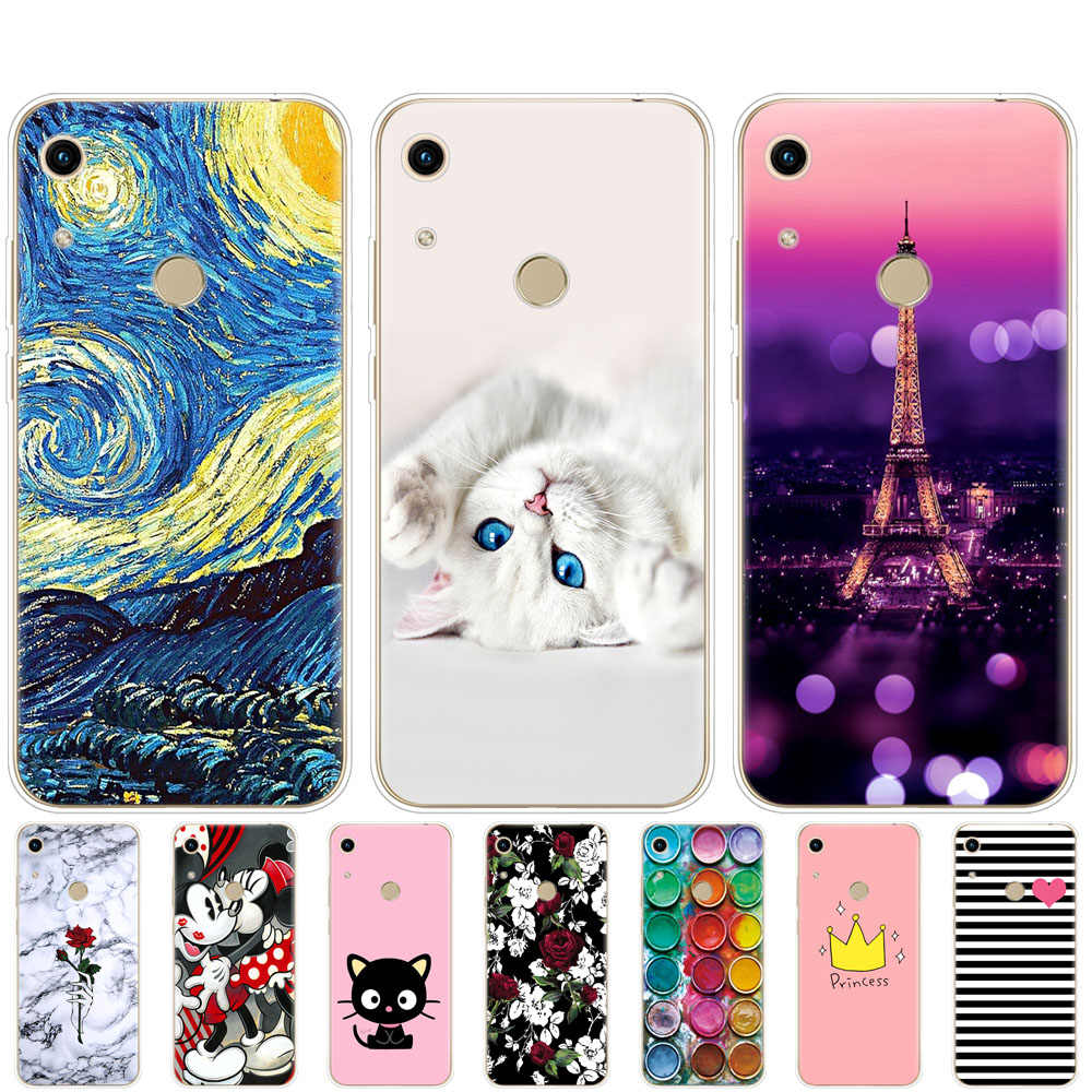 Case For huawei honor 8A pro Case coque Silicon TPU back Cover On for Huawei Honor 8A JAT-LX1 8 A Honor 8A pro JAT-L41 bumper