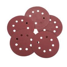 Шлифовальные диски накладки крючки и петли 5 дюймов 8 отверстий