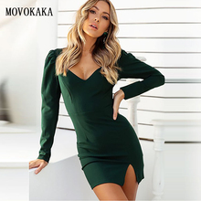 New Fashion Slim Dress Autumn Winter Dress Women Vestidos Dr