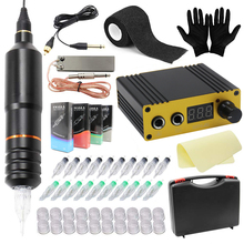 Machine-Kit Tattoo-Pen Professional Power-Supply Rotary Clip-Cord Foot-Pedal