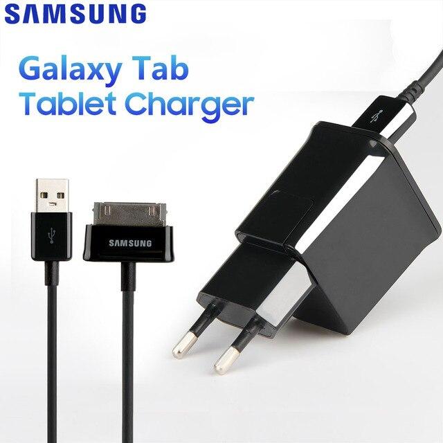 Original Adaptive Tablet Fast Charger For Samsung Galaxy N5100 N5110 Galaxy Note 8.0 Tab 2 P5100 P1010 P7300 P1000 P3100 N8000