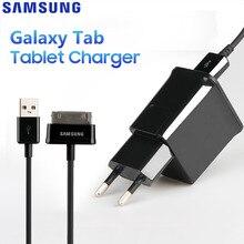 Oryginalny adaptacyjne Tablet szybka ładowarka do Samsung Galaxy N5100 N5110 Galaxy uwaga 8.0 Tab 2 P5100 P1010 P7300 P1000 P3100 N8000