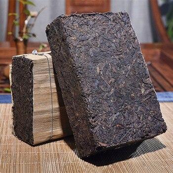 1990 Yr Chinese Tea Yunnan Ripe Puer Tea 500g Oldest Tea Pu'er Ancestor Antique Honey Sweet Dull-red Pu-erh Ancient Tree Pu-erh