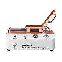 OCA Master LCD réparation automatique OCA polariseur film applicateur machine pour téléphone remettre à neuf stratification OCA colle polariseur adhésif