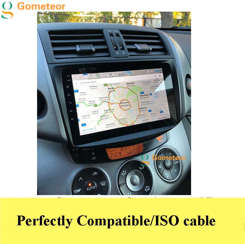 アンドロイド 9.0 車の dvd プレーヤー RAV4 2006-2011 IPS スクリーン + 無線 lan + BT + SWC + RDS + オクタコア + Carplay + デジタル信号処理