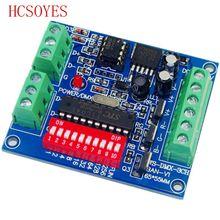 DMX 3CH BAN V1 3CH canal DMX 512 controlador decodificador LED uso para tira led