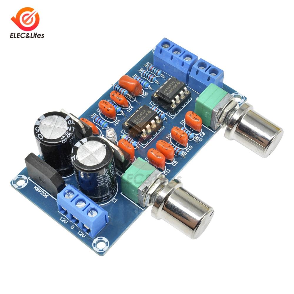 1PCS NE5532 Low-pass Filter subwoofer volume control preamp board Module L
