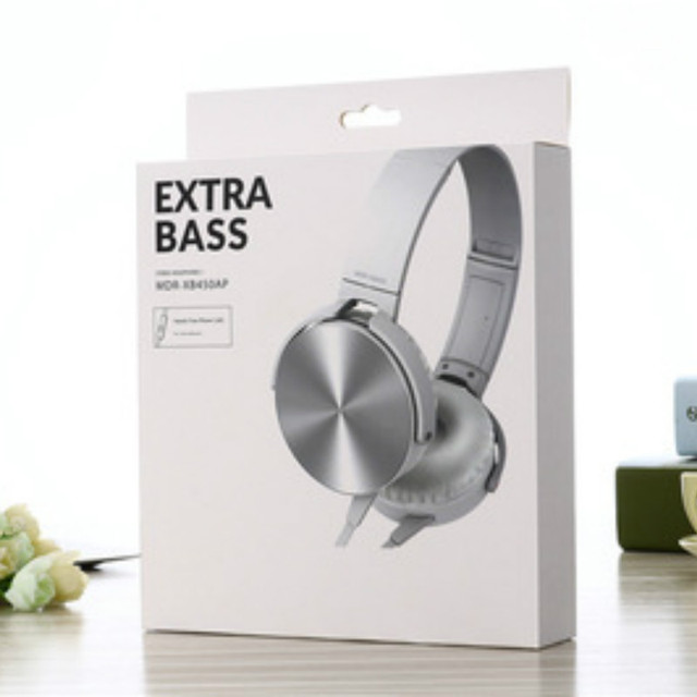 3.5mm Audio Headphones with Mic Portable Fold-Flat Stereo Bass Gaming Headsets Earphone For Laptop PC Computer Desktop Headphone