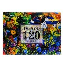 Brutfuner – ensemble De dessin à base d'huile avec Crayons De Couleur classiques, 120 Crayons De Couleur professionnels, Multiples Couleurs