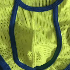 Image 5 - Male underwear boxer mens underpants mesh breathable boxer men ropa interior hombre bodysuit cueca masculina bielizna underwear