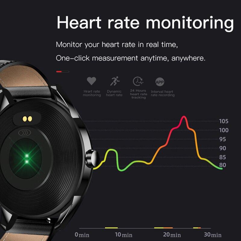 2020 New steel band Men smart watch Waterproof sport for Xiaomi iPhone information Heart rate monitor smartwatch Fitness tracker 2