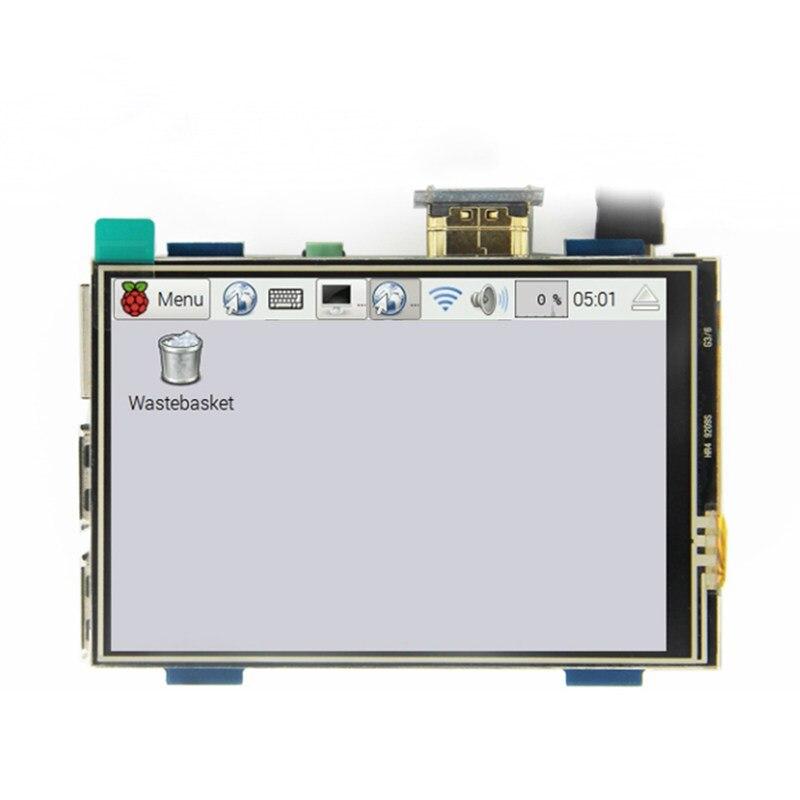 3.5 Inch LCD HDMI USB Touch Screen Real HD 1920x1080 LCD Display For Raspberri 3 Model B / Orange Pi (Play Game Video)MPI3508