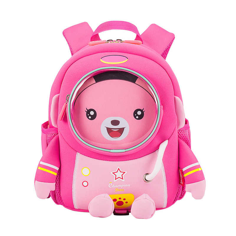 Bebê anti-perdido mochila crianças saco pré-escolar infantil toddle meninos meninas neoprene arnês sacos de jardim de infância mochila 2 a 6 anos