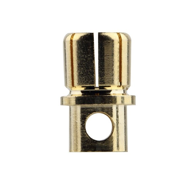 NEW 8.0/3.0 Male Gold Bullet Banana Plug Connectors RC Battery Electronic Hook Professional portable Fashionion 2