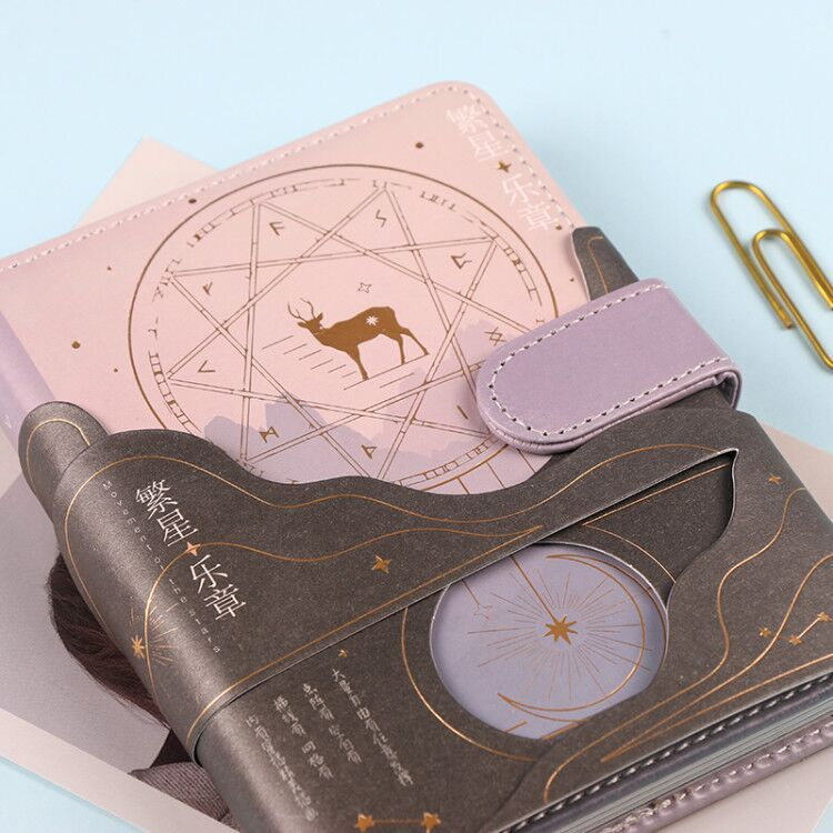 Vintage Fashion They Mystery World PU Leather Diary Book 196P Cool DIY Agenda Planner Journal Gift 15*11cm
