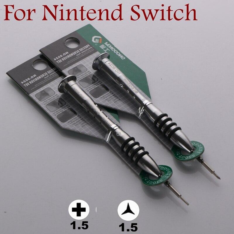 Juego de destornilladores para control NDS DSL 3DS XL Wii PS4 para Apple Macbook Air iPhone X R 8 7 6S 6 HUAWEI