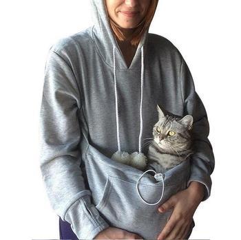 Bluza bluza z kapturem z motywem kota Pet Casual Unisex Cat kieszeń kangura bluza z kapturem koszule cat codzienna bluza z kapturem bluza z kapturem koszule dla dorosłych wersja tanie i dobre opinie CN (pochodzenie) Flexible Pasuje prawda na wymiar weź swój normalny rozmiar 550G