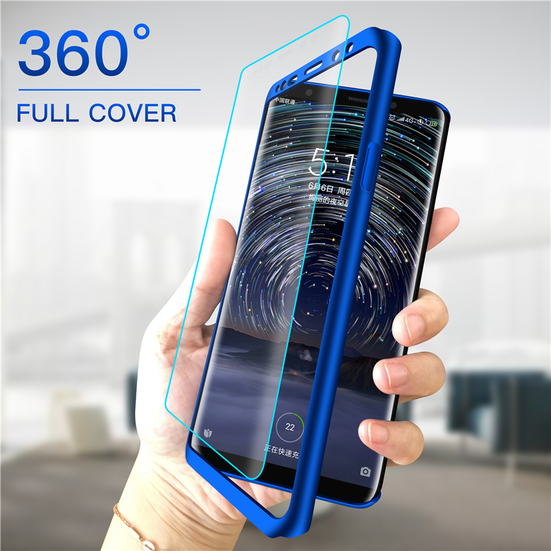 360 Full Cover Phone Case For Xiaomi Redmi Note 8 7 6 5 4 4X 3 2 K20 Pro 3S S2 4A 5A 6A 7A 5Plus GO Hard PC Shockproof Funda