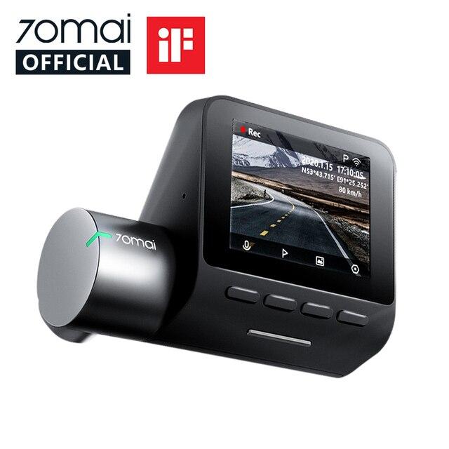 70mai Smart Dash Cam Pro 1944P Speed Coordinates GPS ADAS 70mai Pro Car Dash Camera WiFi 70mai Car DVR Voice Control 24H Parking 1