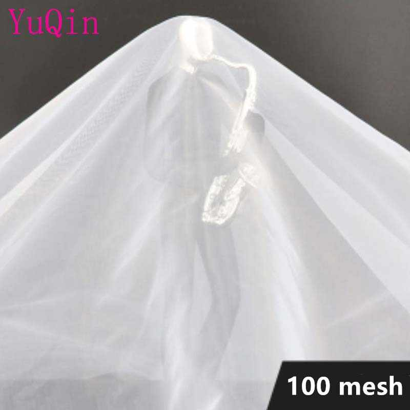 Tela de filtro de nailon 100 malla/en 150 micrones gasa agua soja Pantalla de pintura café vino red tela filtro Industrial malla