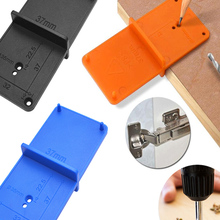Hole-Opener Hinge Hand-Tools-Set Hole-Drilling-Guide Cabinets Locator Template-Door Woodworking