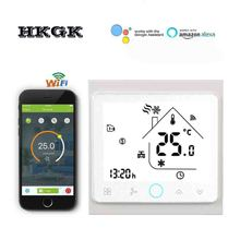 цена на 2p 4p cooling/heating digital wireless wifi thermostat room temperature control for Central air conditioning