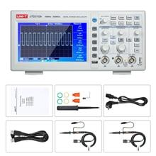 """UNI-T UTD2102e цифровой осциллограф 100 МГц полоса пропускания 2 канала 500 мс/с Портативный """" TFT lcd анализатор логики"""