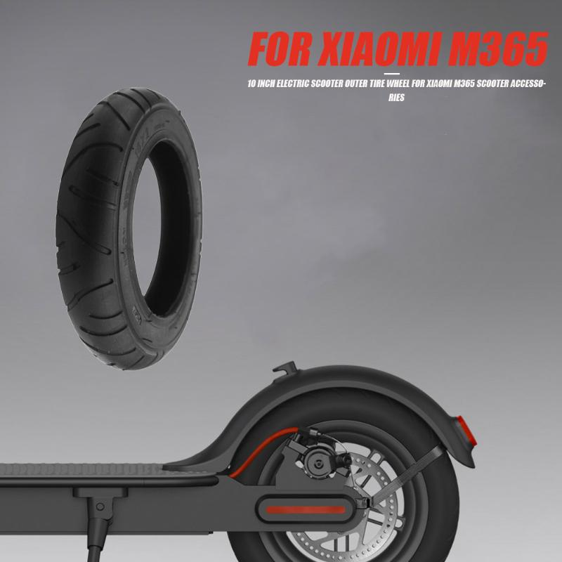 10 inch Electric Scooter Outer Tire with Sufficient Durability and Ruggedness Wheel for Xiaomi M365 Scooter Accessories